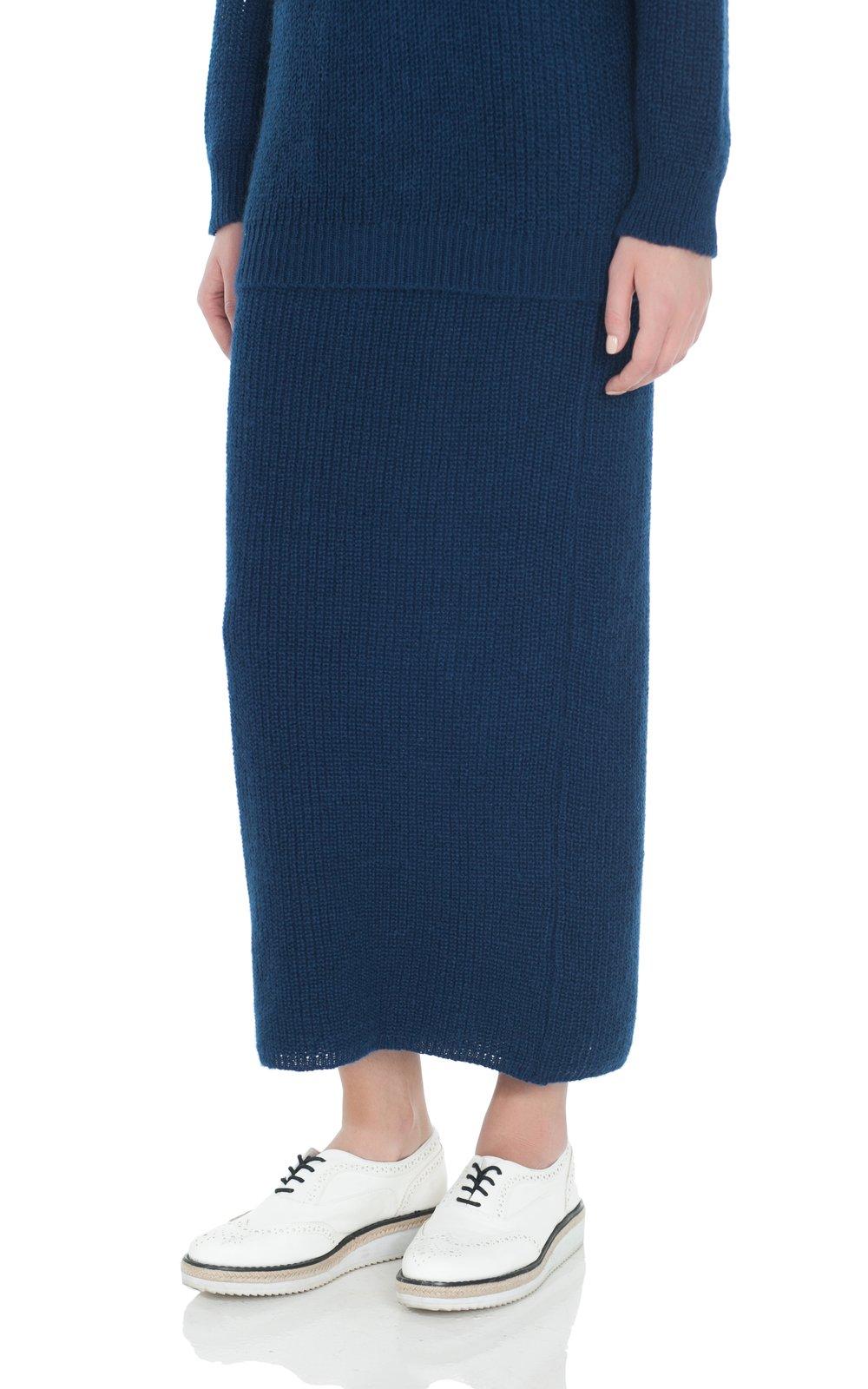 Шерстяная юбка